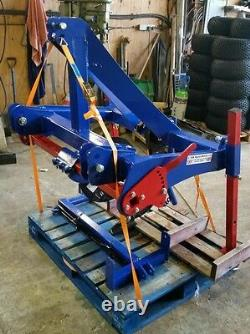 Subsoiler Pipe layer Contractor with Pipe Reel and Sprung Cutting Disk