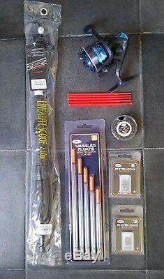 Telescopic Travel/starter kit, 6 ft Rod & Reel Complete Set for Coarse Fishing