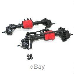Traxxas TRX-4 Sport Crawler Portal Axles Front Rear Housing Red Diff Spool TRX4