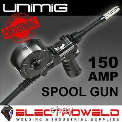 UNIMIG Viper 185 MIG/TIG/STICK Pack Welder, Aluminium Spool Gun, Wire, Torch