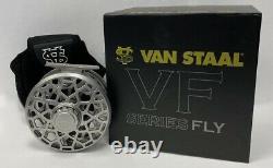 Van Staal VF 8 HD Fly Fishing Reel (7-8-9 WT) Silver NIB -SALE & Free US Ship